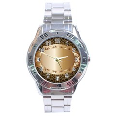 Floral Stainless Steel Analogue Watch by Onesevenart