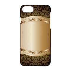 Floral Apple Iphone 7 Hardshell Case by Onesevenart