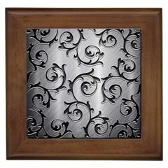 Floral Framed Tiles by Onesevenart