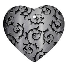 Floral Ornament (heart) by Onesevenart