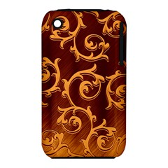 Floral Vintage Iphone 3s/3gs by Onesevenart