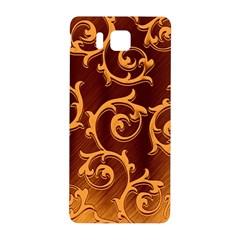 Floral Vintage Samsung Galaxy Alpha Hardshell Back Case by Onesevenart