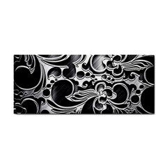 Floral High Contrast Pattern Cosmetic Storage Cases by Onesevenart