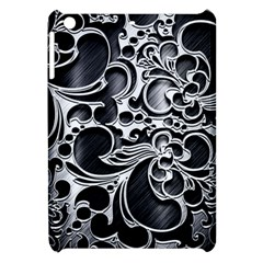 Floral High Contrast Pattern Apple Ipad Mini Hardshell Case by Onesevenart