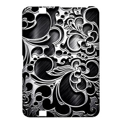 Floral High Contrast Pattern Kindle Fire Hd 8 9  by Onesevenart