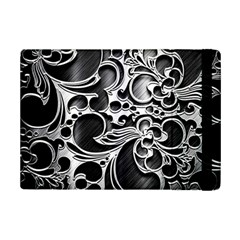 Floral High Contrast Pattern Ipad Mini 2 Flip Cases by Onesevenart