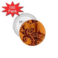 Floral Vintage  1.75  Buttons (100 pack)