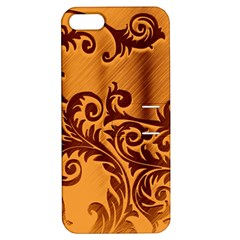 Floral Vintage  Apple Iphone 5 Hardshell Case With Stand by Onesevenart