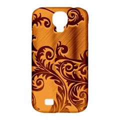 Floral Vintage  Samsung Galaxy S4 Classic Hardshell Case (pc+silicone) by Onesevenart