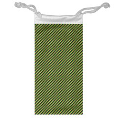 Mardi Gras Checker Boards Jewelry Bag by PhotoNOLA