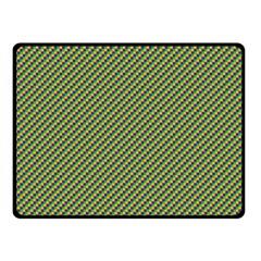 Mardi Gras Checker Boards Fleece Blanket (small) by PhotoNOLA