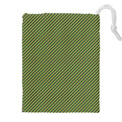 Mardi Gras Checker Boards Drawstring Pouches (xxl) by PhotoNOLA