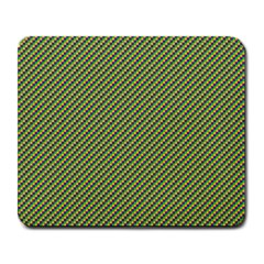 Mardi Gras Checker Boards Large Mousepads by PhotoNOLA