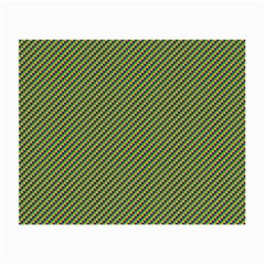 Mardi Gras Checker Boards Small Glasses Cloth by PhotoNOLA