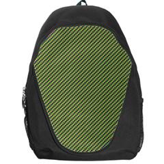 Mardi Gras Checker Boards Backpack Bag by PhotoNOLA