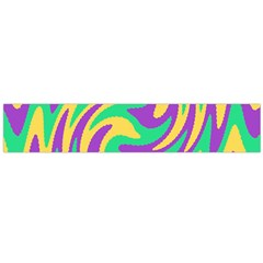 Mardi Gars Flano Scarf (large)  by PhotoNOLA