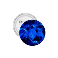 Blue Flame Light Black 1 75  Buttons by Alisyart