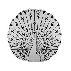 Bird Peacock Fan Animals Standard 15  Premium Round Cushions by Alisyart