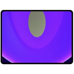Ceiling Color Magenta Blue Lights Gray Green Purple Oculus Main Moon Light Night Wave Double Sided Fleece Blanket (large)  by Alisyart
