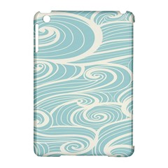 Blue Waves Apple Ipad Mini Hardshell Case (compatible With Smart Cover) by Alisyart