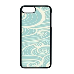 Blue Waves Apple Iphone 7 Plus Seamless Case (black) by Alisyart