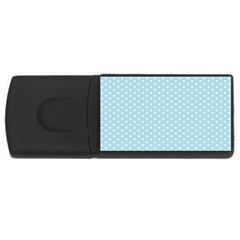 Circle Blue White Usb Flash Drive Rectangular (4 Gb) by Alisyart