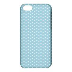 Circle Blue White Apple Iphone 5c Hardshell Case by Alisyart