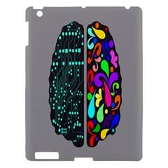 Emotional Rational Brain Apple Ipad 3/4 Hardshell Case by Alisyart