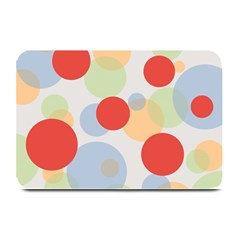 Contrast Analogous Colour Circle Red Green Orange Plate Mats by Alisyart