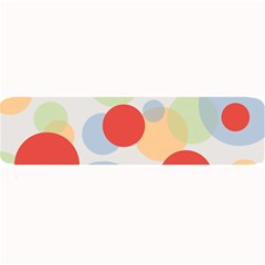 Contrast Analogous Colour Circle Red Green Orange Large Bar Mats by Alisyart