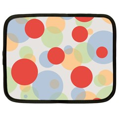 Contrast Analogous Colour Circle Red Green Orange Netbook Case (xl)  by Alisyart