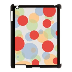 Contrast Analogous Colour Circle Red Green Orange Apple Ipad 3/4 Case (black) by Alisyart