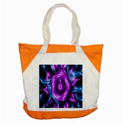 Colors Light Blue Purple Hole Space Galaxy Accent Tote Bag by Alisyart