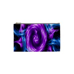 Colors Light Blue Purple Hole Space Galaxy Cosmetic Bag (small)  by Alisyart