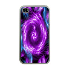 Colors Light Blue Purple Hole Space Galaxy Apple Iphone 4 Case (clear) by Alisyart