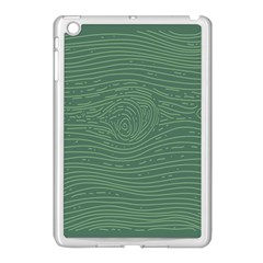 Illustration Green Grains Line Apple Ipad Mini Case (white) by Alisyart