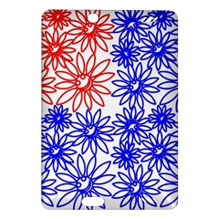 Flower Floral Smile Face Red Blue Sunflower Amazon Kindle Fire Hd (2013) Hardshell Case by Alisyart