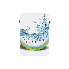 Fruit Water Slice Watermelon Apple Ipad Mini Protective Soft Cases by Alisyart