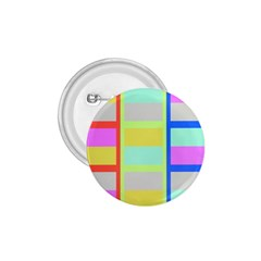Maximum Color Rainbow Red Blue Yellow Grey Pink Plaid Flag 1 75  Buttons by Alisyart