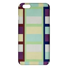 Maximum Color Rainbow Brown Blue Purple Grey Plaid Flag Iphone 6 Plus/6s Plus Tpu Case by Alisyart