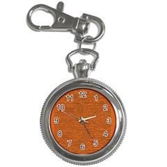 Illustration Orange Grains Line Key Chain Watches by Alisyart