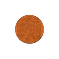 Illustration Orange Grains Line Golf Ball Marker (4 Pack) by Alisyart