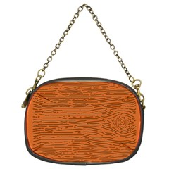 Illustration Orange Grains Line Chain Purses (two Sides)  by Alisyart