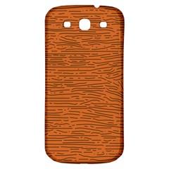Illustration Orange Grains Line Samsung Galaxy S3 S Iii Classic Hardshell Back Case by Alisyart