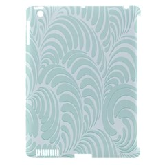 Leaf Blue Apple Ipad 3/4 Hardshell Case (compatible With Smart Cover) by Alisyart