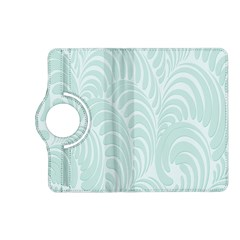 Leaf Blue Kindle Fire Hd (2013) Flip 360 Case by Alisyart