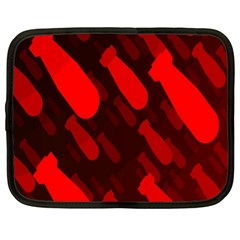 Missile Rockets Red Netbook Case (large) by Alisyart