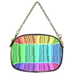 Multiplication Printable Table Color Rainbow Chain Purses (one Side)  by Alisyart
