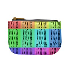 Multiplication Printable Table Color Rainbow Mini Coin Purses by Alisyart