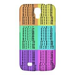 Multiplication Printable Table Color Rainbow Samsung Galaxy Mega 6 3  I9200 Hardshell Case by Alisyart